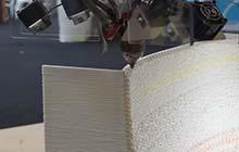 为庆祝伦敦建筑节,WASP 3D打印一个动感十足的墙体结构