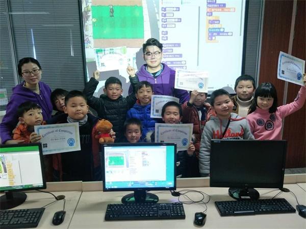 杭州下沙校区:少儿18luck新利app训练营开班啦