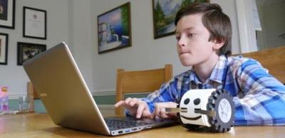 研究:4岁的孩子可学编程和机器人
