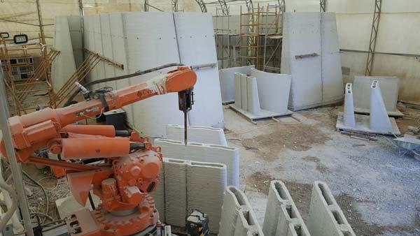 R&Drone实验室:阿联酋首个完全在现场3D打印而成的建筑