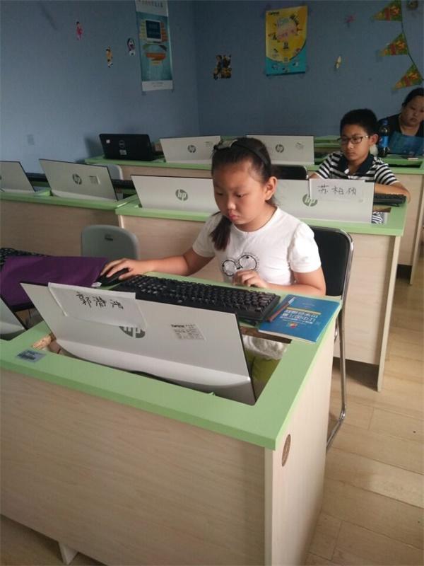 山东青岛CBD校区:少儿18luck新利app体验课开班盛况