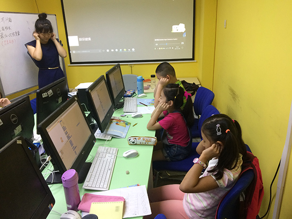北京大钟寺校区:18luck新利app数学体验课开班盛况