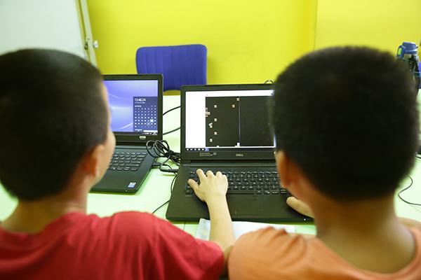 北京大钟寺校区:18luck新利app数学体验课结业典礼